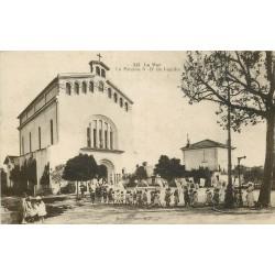 83 NICE SAINT - AUGUSTIN. Quartier du Var. La Paroisse Notre-Dame de Lourdes 1936