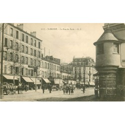 94 SAINT MANDE. La Rue de Paris avec l'Octroi de Vincennes