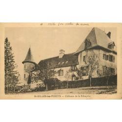 87 SAINT-GILLES-LES-FORÊTS. Château de la Ribeyrie