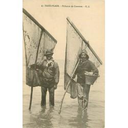 62 PARIS-PLAGE. Pêcheurs de Crevettes