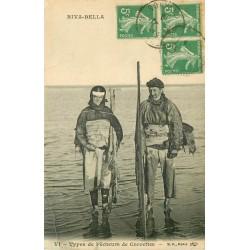 14 RIVA-BELLA. Types de Pêcheurs de Crevettes 1919