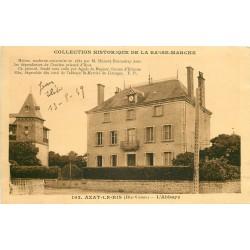 87 AZAT-LE-RIS. L'Abbaye 1939 par Ducoudray