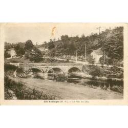 87 LES BILLANGES. Le Pont des Lilas 1946
