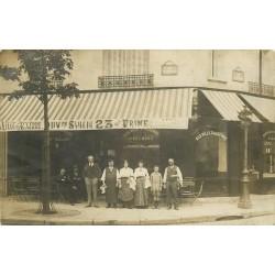 PARIS 12. Café à la Ville d'Auxerre Rues de Prague et de Baudelaire