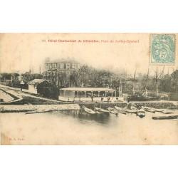 91 PONT DE JUVISY DRAVEIL. Hôtel restaurant de Gibraltar vers 1905