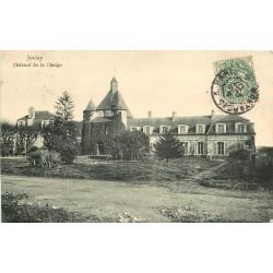 2 x Cpa 91 JUVISY-SUR-ORGE. Château de la Chaigne 1907 et Pont 1908
