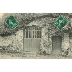 2 x Cpa 91 DRAVEIL. Porte Ermitage 1907 et Eglise 1908