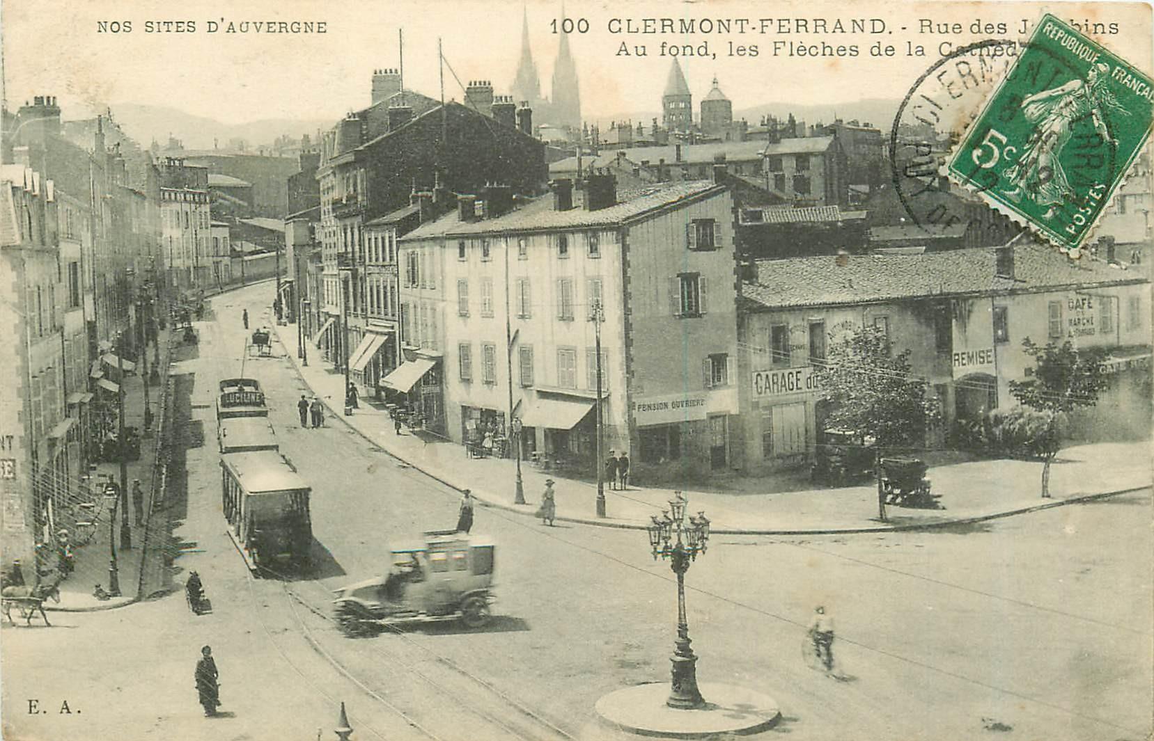 63 CLERMONT-FERRAND. Rue des Jacobins 1912