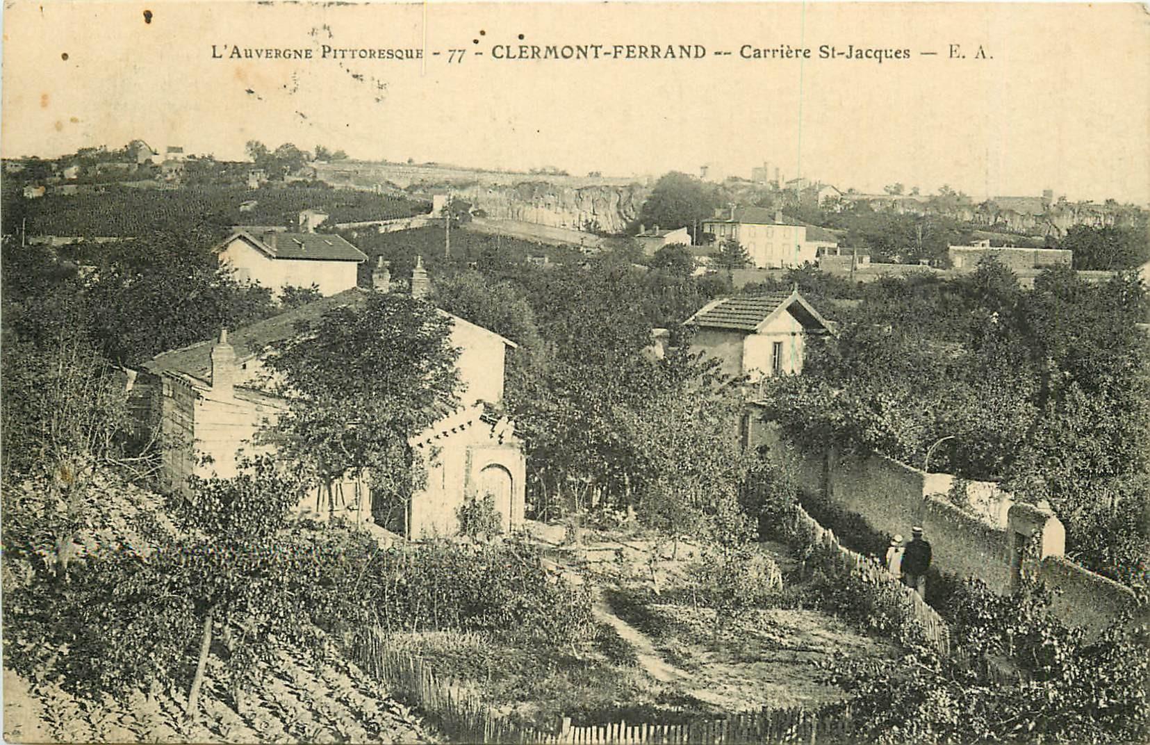 63 CLERMONT-FERRAND. Carrière Saint-Jacques vers 1912