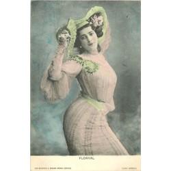 SPECTACLE. Artiste Comédienne Chanteuse. De Blois par Breger 1904