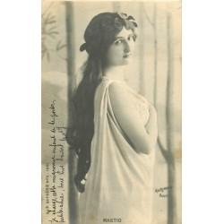 SPECTACLE. Artiste Comédienne Chanteuse. Mastio 1903 Soprano par Reutlinger
