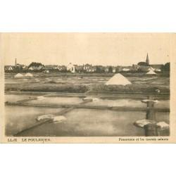 44 LE POULIGUEN. Marais Salants. Mulons de Sel