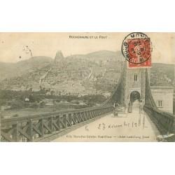 07 ROCHEMAURE ET LE PONT 1907