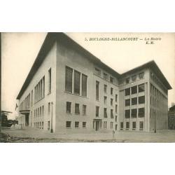 2 x Cpa 92 BOULOGNE BILLANCOURT. La Mairie et Hameau fleuri 1904