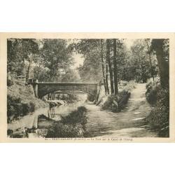 93 VERT-GALANT. Le Pont sur le Canal de l'Ourcq 1938