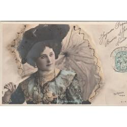 Artiste Comédienne Chanteuse. LIANE DE VRIES 1904 par Reutlinger