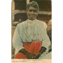 DIEGO-SUAREZ. Jeune Fille Malgache