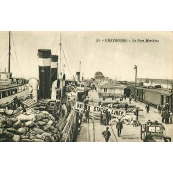 50 CHERBOURG. Gare Maritime