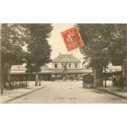 03 VICHY. La Gare 1917