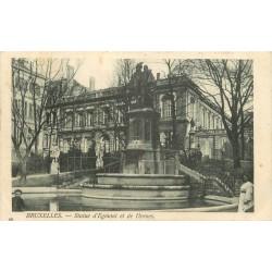 BRUXELLES. Statue Egmont et Hornes 1905