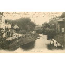 23 AUBUSSON. Quai des Iles 1904