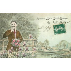 95 SEUGY. Mille bons baisers 1909
