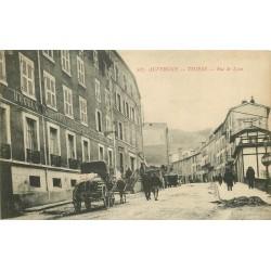 63 THIERS. Hotels de Paris et de l'Aigle d'Or rue de Lyon