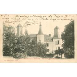 23 Château de Lavaud à Clocher 1904 animation