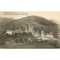 26 SAINTE-CROIX. Le Village de Grangeron viticulteur 1934