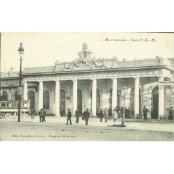 34 MONTPELLIER. Gare P.L.M