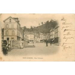 27 PONT AUDEMER. Place Vallemont 1903