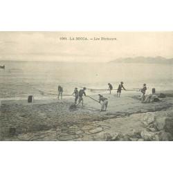 06 LA BOCCA. Les Pêcheurs au filet