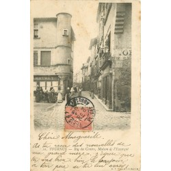 71 TOURNUS. Maison de l'Escargot rue du Centre 1904