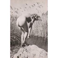 NUS FEMININS. Photo Cpsm superbe Femme nue