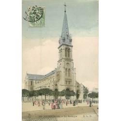 95 ARGENTEUIL 2 Cpa la Basilique 1907 et vue panoramique 1909