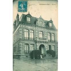 95 VILLIERS-LE-BEL 2 x Cpa Mairie 1937 et Eglise 1902