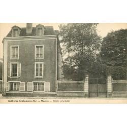 77 MEAUX. Institution Sainte-Jeanne d'Arc Entrée principale