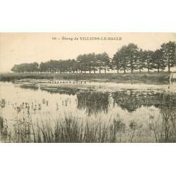 91 VILLIERS-LE-BACLE. Etang 1930