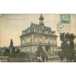 78 MAISONS-LAFFITTE. La Mairie 1907 colorisée