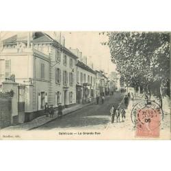 95 SAINT-LEU LA FORET. La Grande Rue 1906