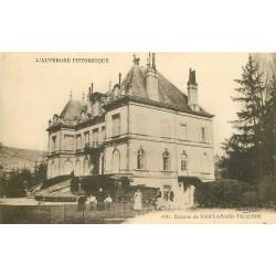 63 SAINT-SATURNIN. Le Château