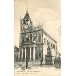 BORGOMANERO. Chiesa Parrochiale vers 1908