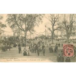 13 MARSEILLE. 1906 Esplanade pour Exposition Coloniale 1907