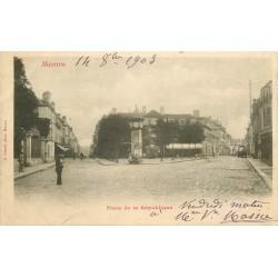 78 MANTES. Place de la République 1903