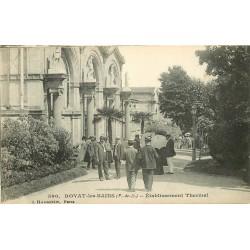 2 x Cpa 63 ROYAT-LES-BAINS. Etablissement Thermal et Kursaal avenue Abbé Védrine 1912