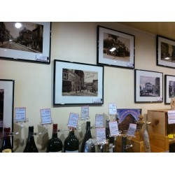 """Expositio-Vente sur cartes postales de Bagnolet au """" Soleil le Vin """" 63 rue Sadi Carnot"""