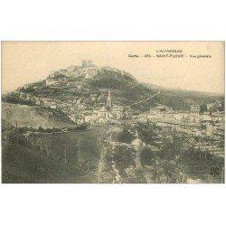 carte postale ancienne 15 SAINT-FLOUR. Vue générale n°275