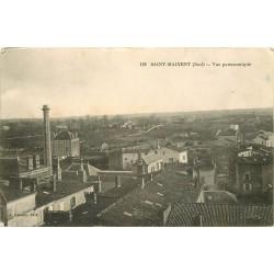 79 SAINT-MAIXENT. Vue sur les Usines 1915