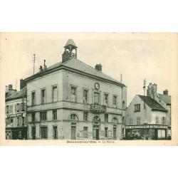 2 x Cpa 95 BEAUMONT-SUR-OISE. La Mairie, le Familistère et la Tour 1941