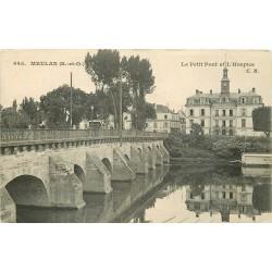 78 MEULAN. Petit Pont et Hospice